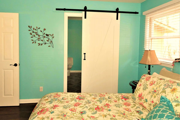Do You Like The Barn Door Look?